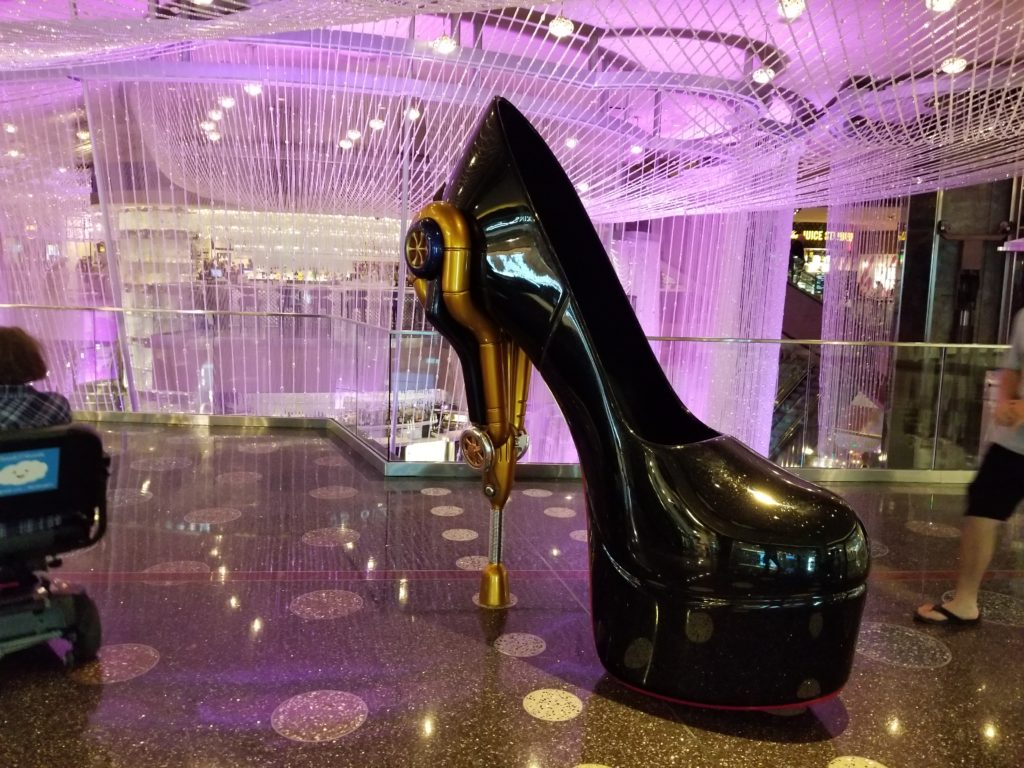 Giant Shoe in the Cosmopolitan